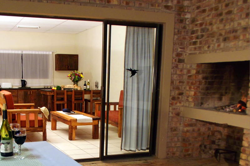 Premium chalets comes with lovely private stoep areas & braai facilities