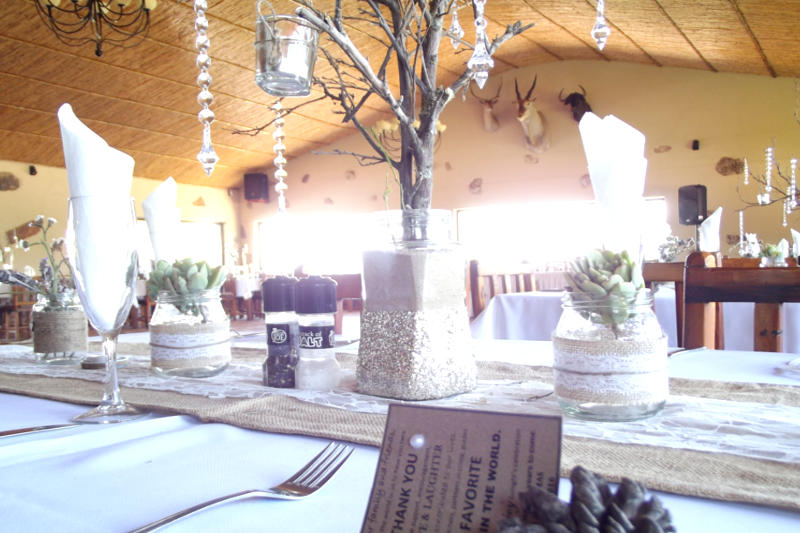 Wedding function venue in the Western Cape between Oudtshoorn & Calitzdorp on route 62 - Karoowater Guest Farm
